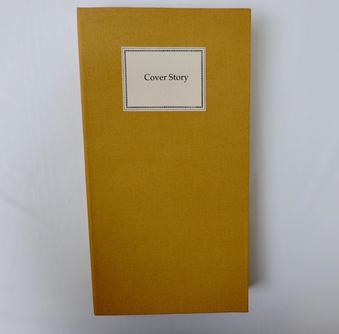 """Book art cover titled """"Cover Story"""""""