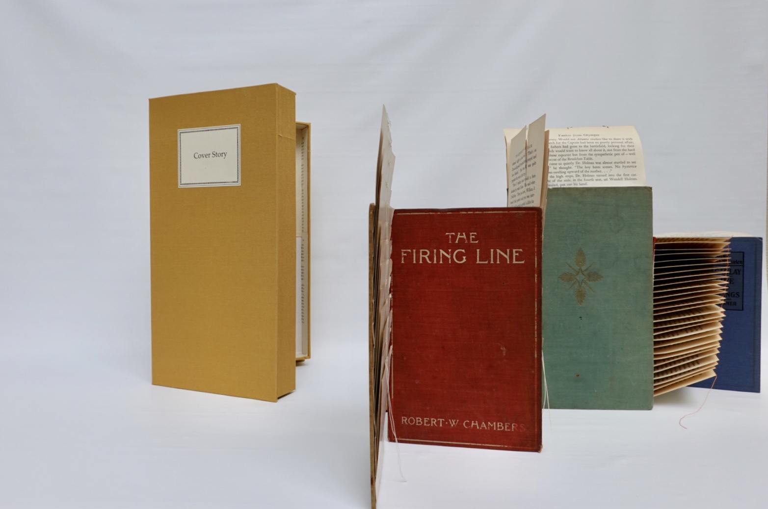 Book art Cover Story case and interior