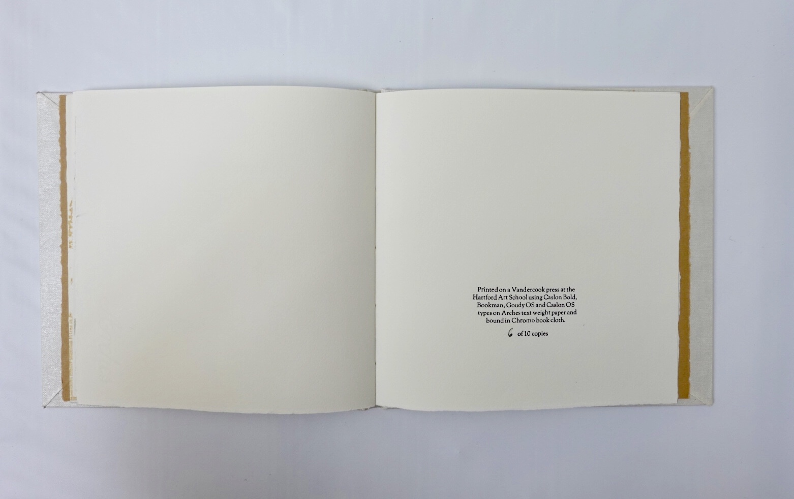 colophon at end of book