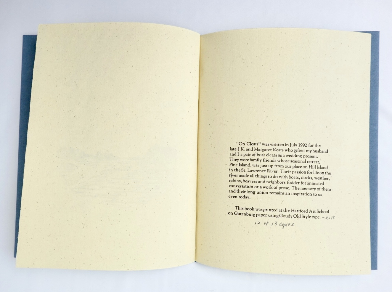 colophon with description of the genesis of the poem