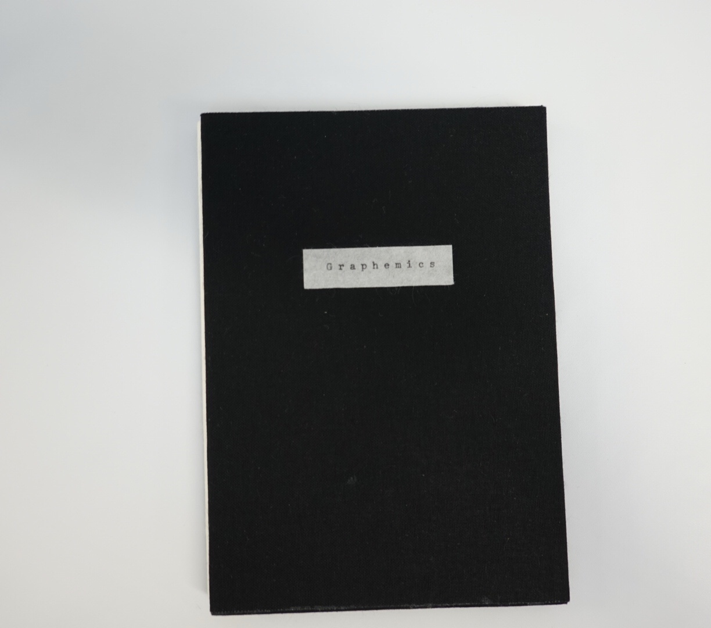 book cover titled Graphemics